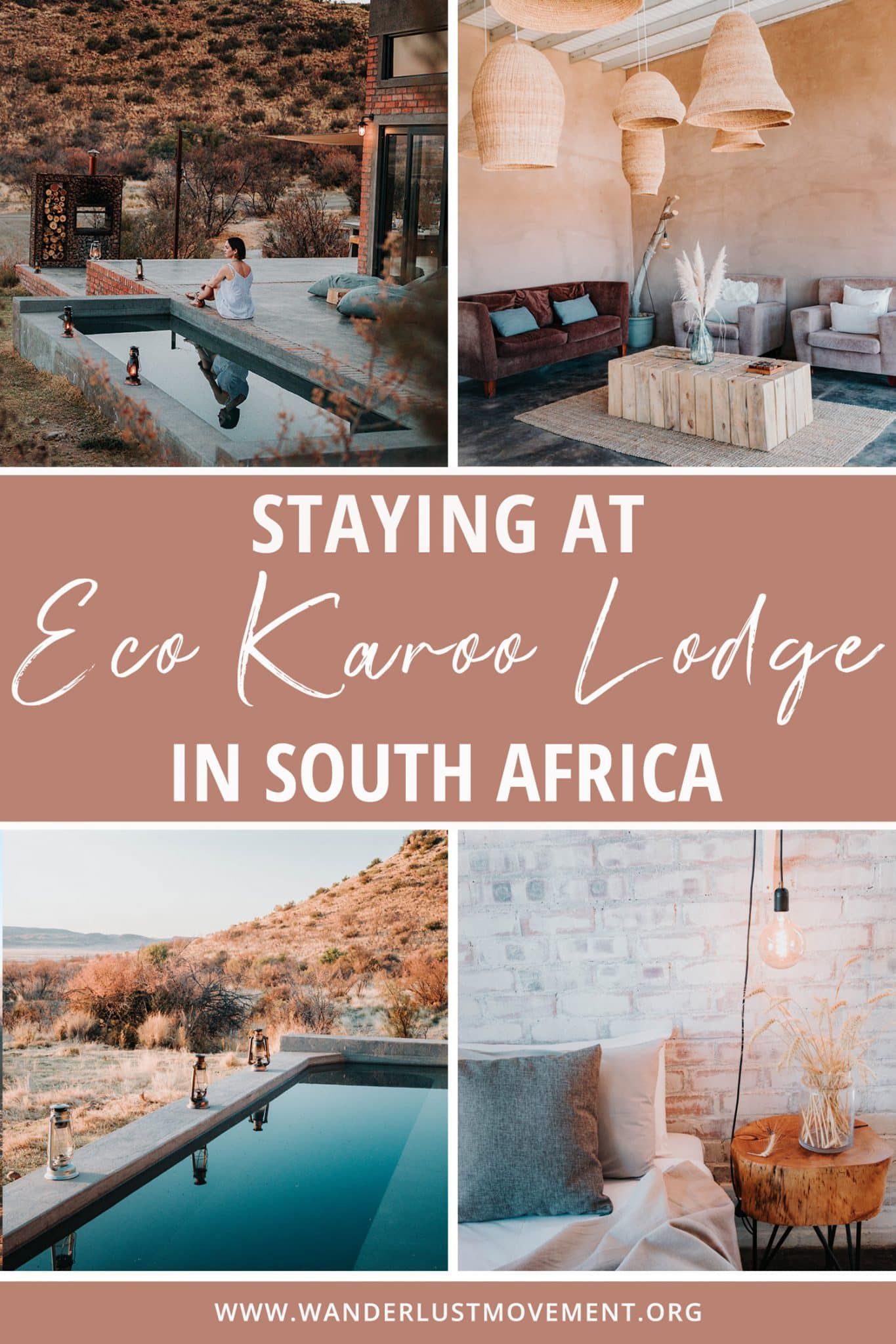 Staying in the Karoo Desert at Eco Karoo Lodge in South Africa