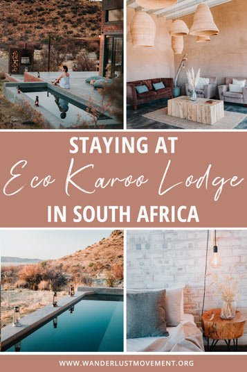 Eco Karoo Lodge is an remote off-the-grind escape for weary travellers en route to Cape Town or Johannesburg.