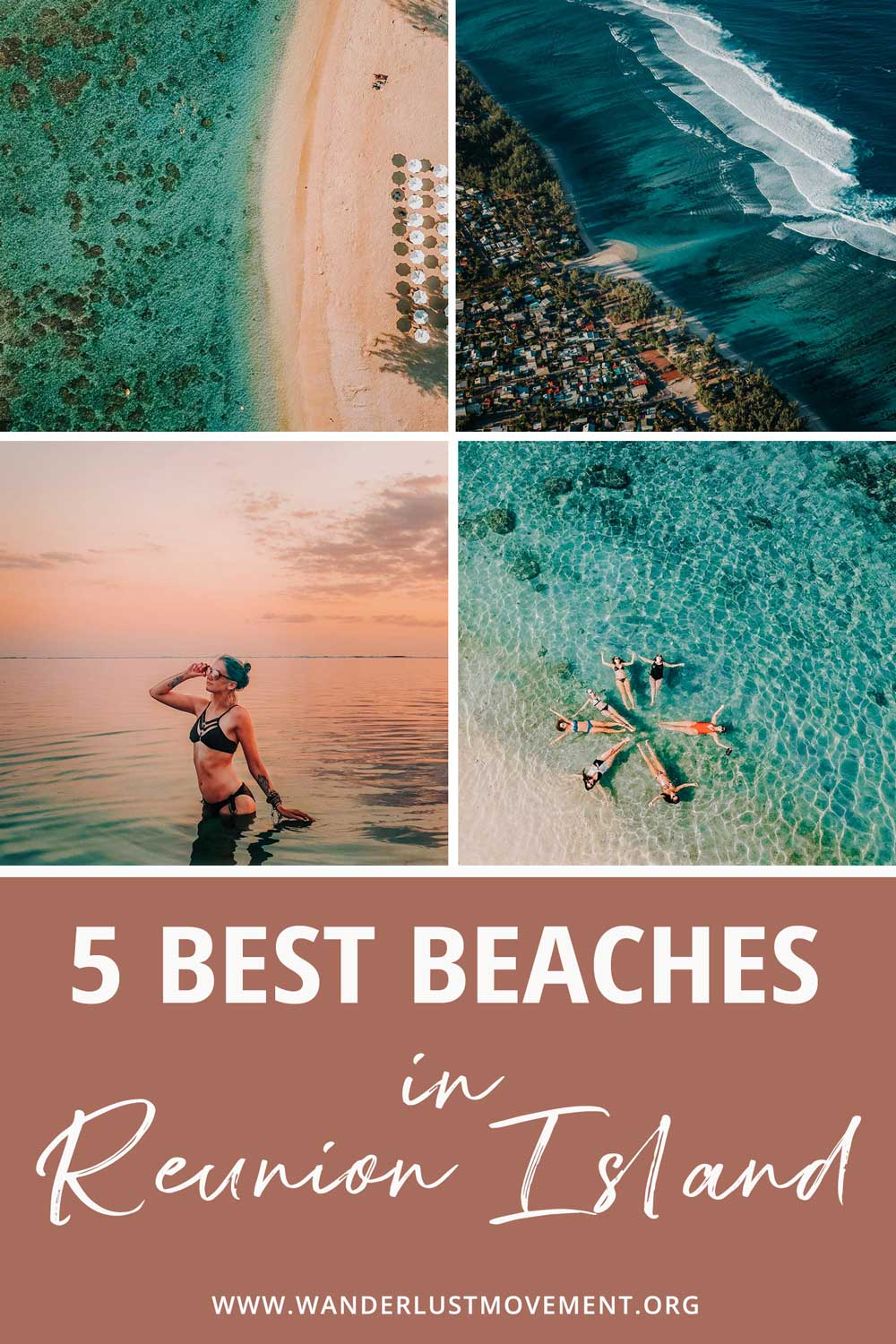 5 of the Most Spectacular Beaches on the West Coast of Reunion Island