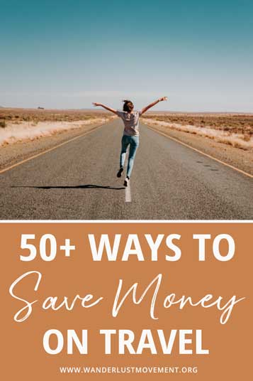Want to travel but got no funds? Here are 50+ genius ways to save money for travel and save TONS of money for your dream holiday!