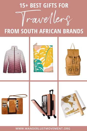 Last-minute festive season shopping? Here are some of the best gifts for travellers from South African brands to put under the tree!