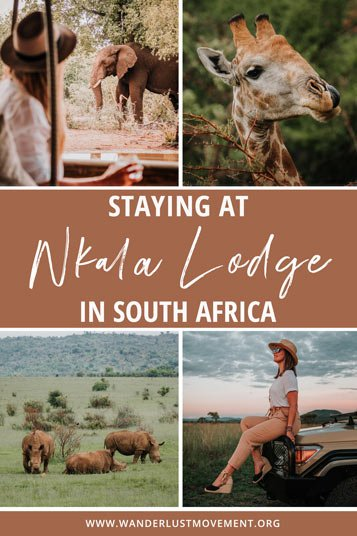 Nkala Lodge is an unforgettable, luxurious safari getaway only 2-hours from Johannesburg. Here's my full review on what to expect!