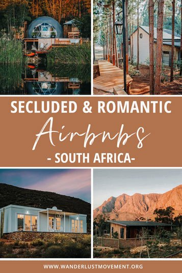 Escape to remote cabins, bungalows, and cottages with these romantic Airbnbs in South Africa, tucked away in the most beautiful parts of the country!