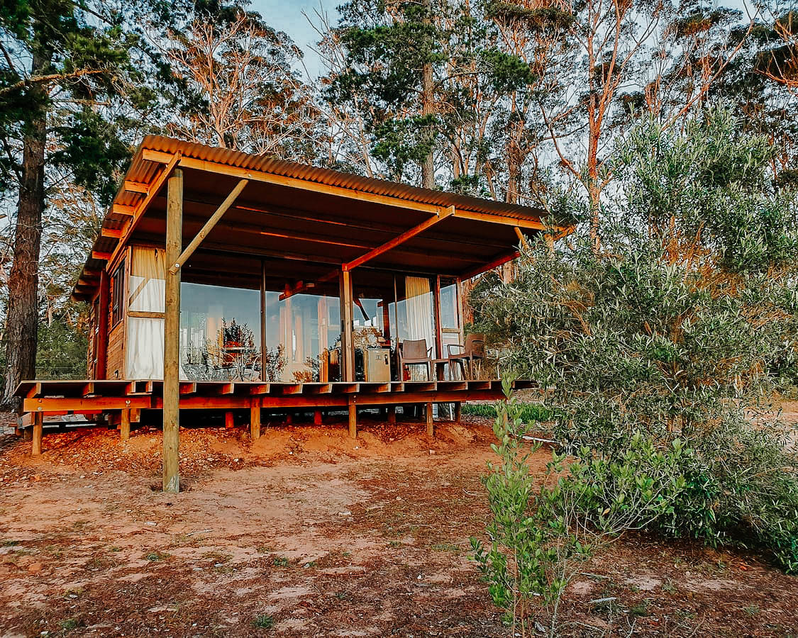 Wilderness romantic airbnbs in south africa