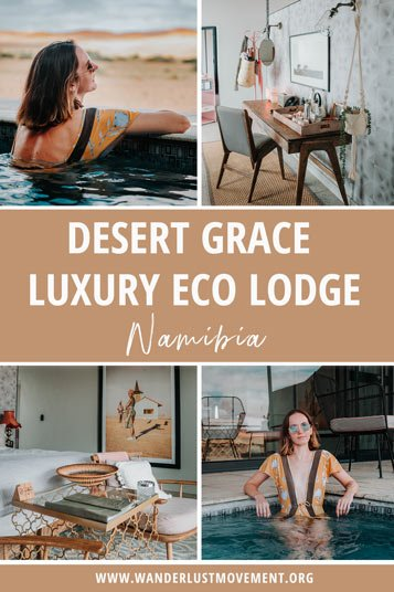 Gondwana's Desert Grace is a top luxury eco-lodge in the Namib Desert. Here's what it's like spending one night here amongst the red dunes!