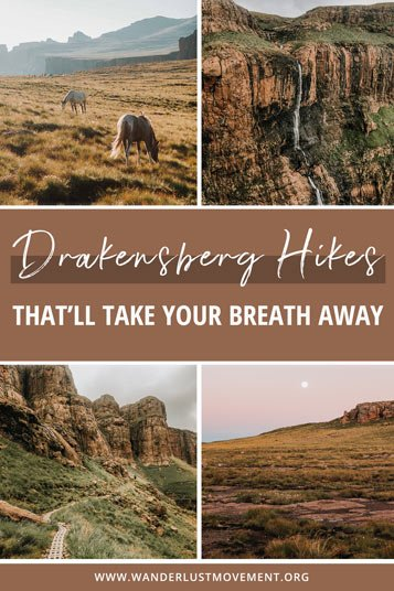 Get outside and explore the largest mountain range in South Africa. Here are some of the best Drakensberg hikes to add to your bucket list!